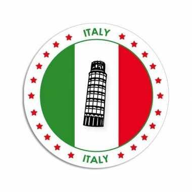 Italie thema bierviltjes