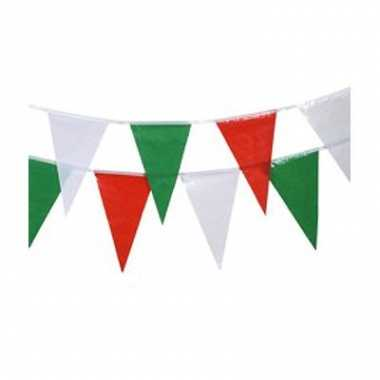 Italie vlaggenlijnen 4 meter