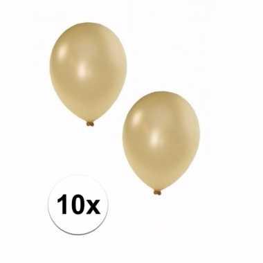 Ivoor grote ballonnen 10 stuks
