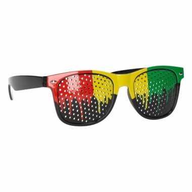 Jamaica gekleurde zonnebrillen
