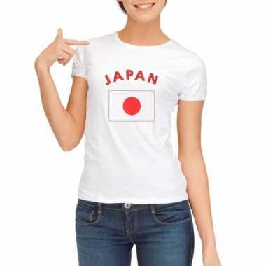 Japanse vlag t-shirt voor dames