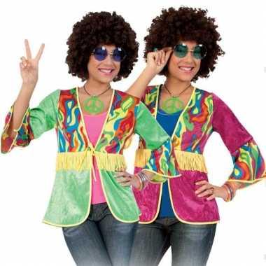 Jaren 60 vestje gekleurd voor dames