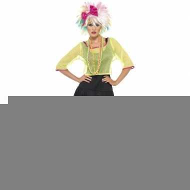 Jaren 80 eigthies verkleedkleding voor dames