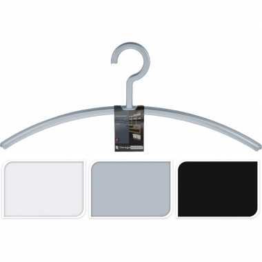 Jassenhangers grijs voor in de hal/garderobe per 2 stuks grijs
