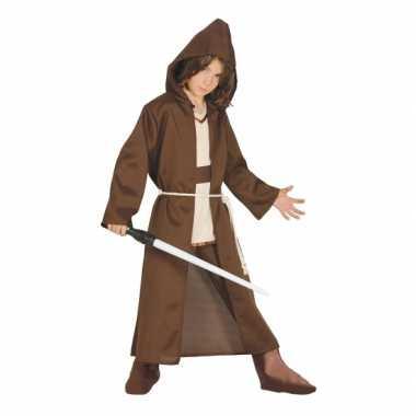Jedi meester look-a-like kostuum voor kids