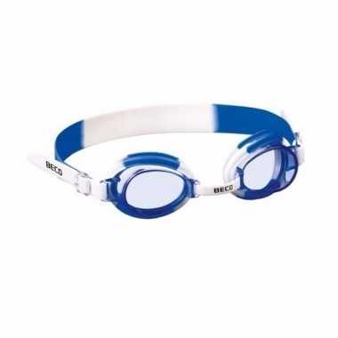 Jongens zwembril met siliconen bandje