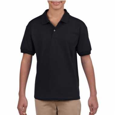 Jongenskleding poloshirt zwart