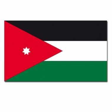 Jordaanse vlag 90x150 cm
