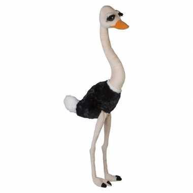 Jumbo dierenknuffel struisvogel 100 cm