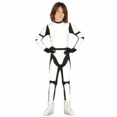 Jumpsuit stormtrooper look-a-like voor kinderen