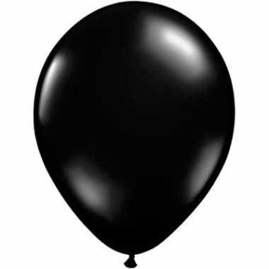Juwel zwart qualatex ballonnen