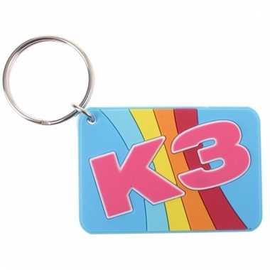 K3 sleutelhangers regenboog