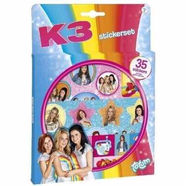 K3 sticker set 3 vellen
