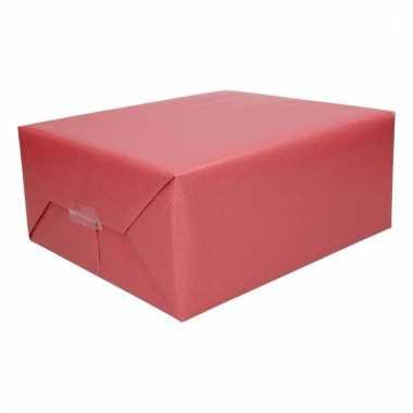Kado/cadeau papier rood