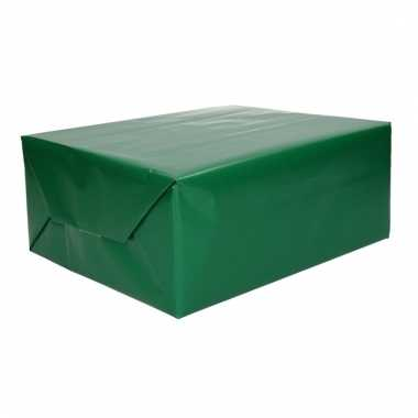 Kadopapier groene 70 x 200 cm