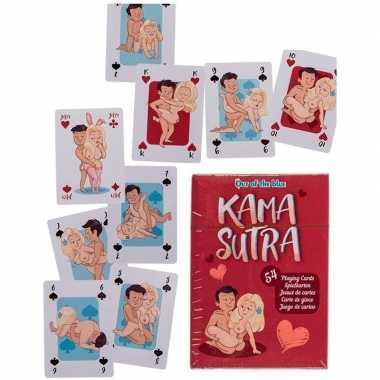 Kamasutra speelkaarten 54 delig