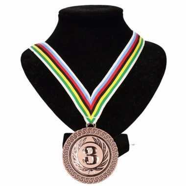 Kampioensmedaille nr. 3 wereldkampioen