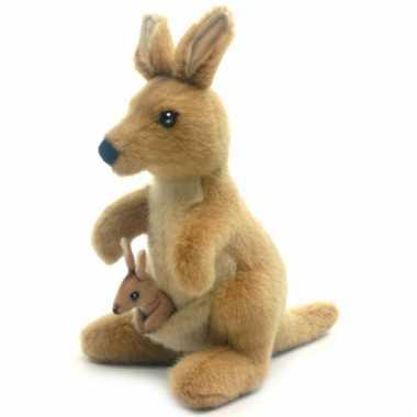 Kangoeroe knuffeldier 20 cm