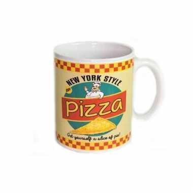 Kantoor mok voor pizza liefhebber