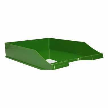 Kantoor postbakje groen a4