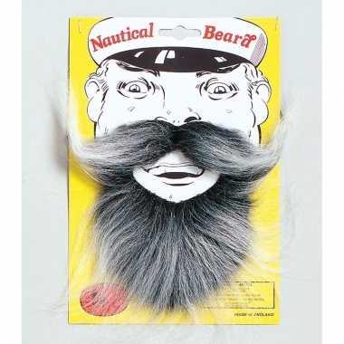 Kapiteins baard met snor