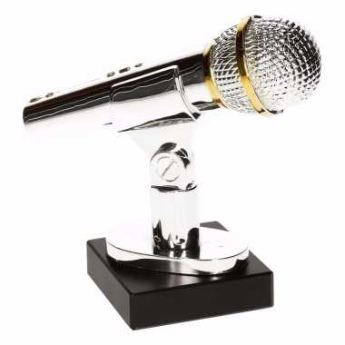 Karaoke winnaars beker/prijs/award 15 cm