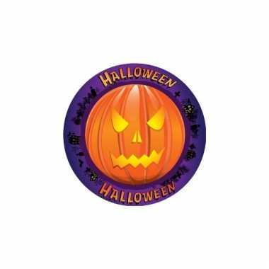 Kartonnen onderzetters halloween