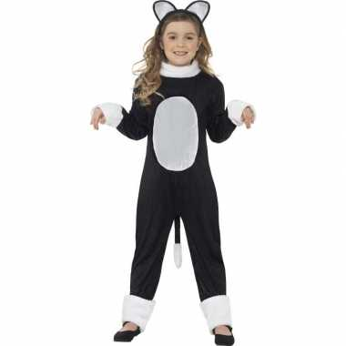 Katten/poezen verkleedkleding voor kinderen