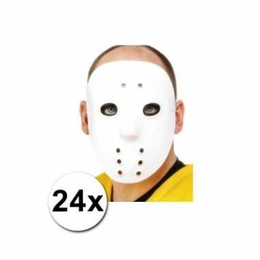 Keeper maskers ijshockey 24 stuks