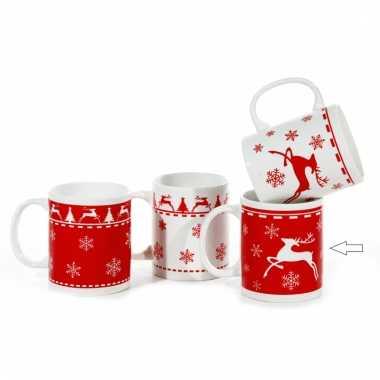 Kerst beker rood type 2