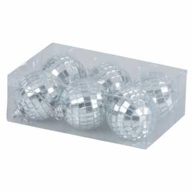 Kerst discoballen 5 cm