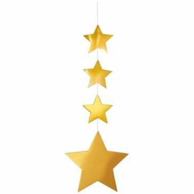 Kerst hangdecoratie sterren 130 cm
