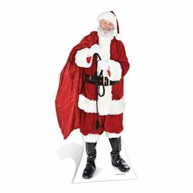 Kerst versiering kartonnen kerstman