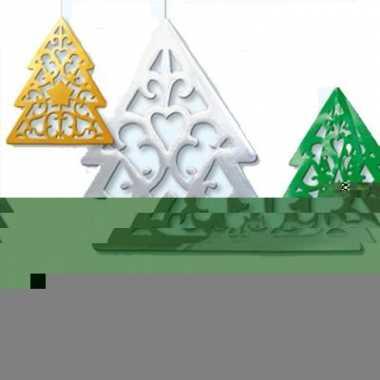 Kerstboom hangdecoratie 50 cm