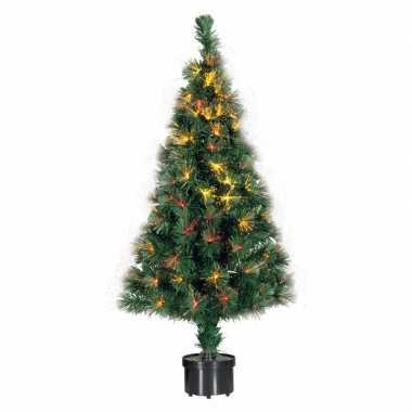 Kerstboom met fiber verlichting 90 cm