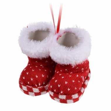 Kerstboomhanger schoentjes type 8