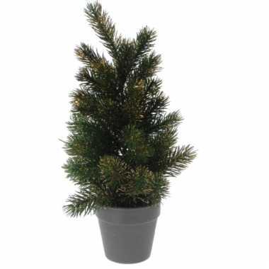 Kerstboompje gouden glitters 40 cm