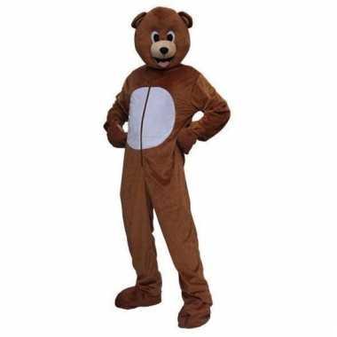 Kostuum bruine beer volwassenen