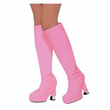 Laars hoezen in roze kleur pvc