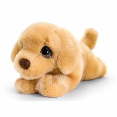 Labrador honden knuffeldier 25 cm