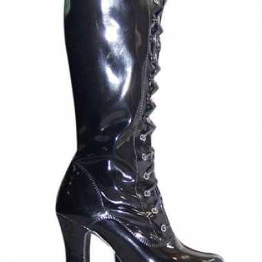 Laklaarzen in het zwart volwassenen
