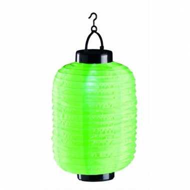 Lampion op zonne energie groen