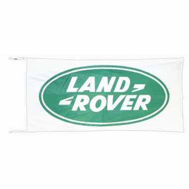 Land rover vlag wit 150 x 75 cm