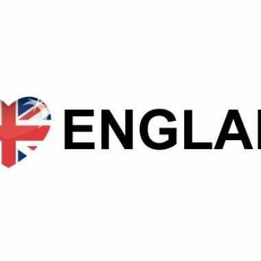 Landen sticker i love england