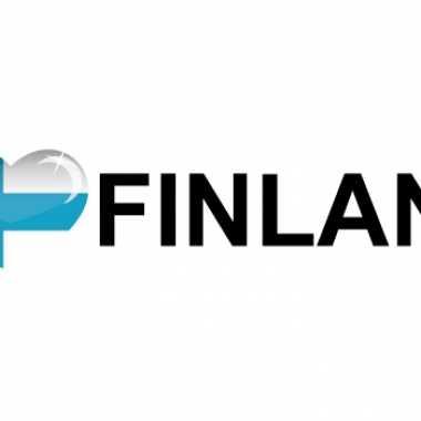 Landen sticker i love finland