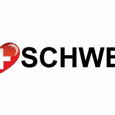 Landen sticker i love schweiz