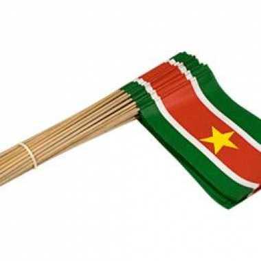 Landenvlaggetjes van suriname