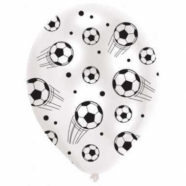 Latex ballonnen met voetbal print