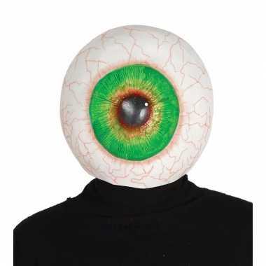 Latex horror oogbol masker voor volwassenen