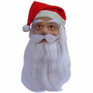 Latex masker van de kerstman